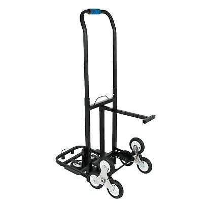 Stair Climbing Cart 420 Lbs Capacity Hand Truck with Backup Wheels All Terrain