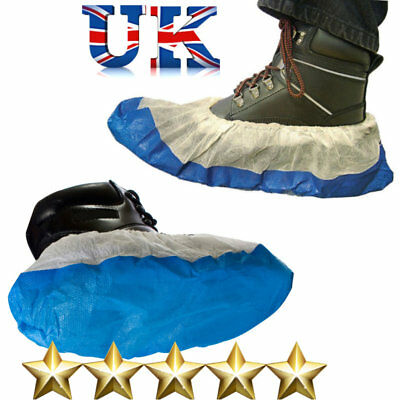Waterproof Disposable Anti Slip Shoe Covers Carpet Cleaning Overshoes Protective