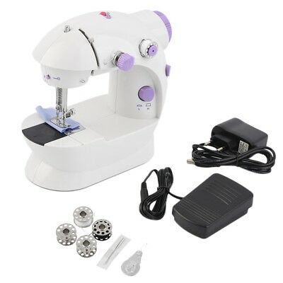 Multifunction Electric Mini Sewing Machine Household Desktop With LED HW