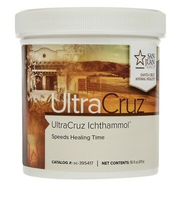 UltraCruz Ichthammol Ointment for Horses, 16 oz