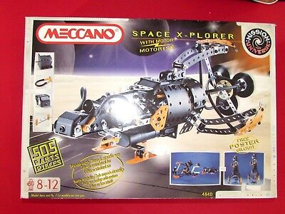 Meccano Space  X- plorer. Outfit (4840)  Used 0nce only - Early 1980's set