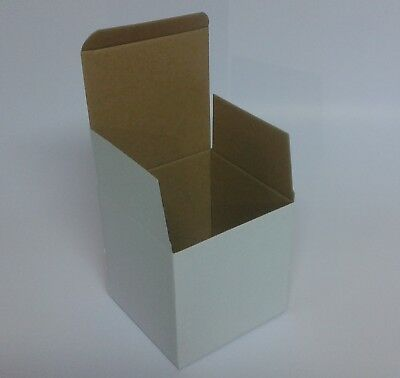 White Postal Cardboard Boxes Small Mailing Shipping Cartons