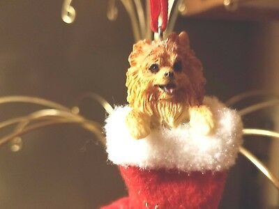 New!, Pomeranian Dog Christmas Ornament