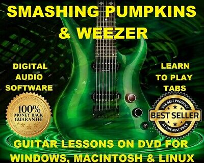 Smashing Pumpkins 318 Weezer 316 Guitar Tabs Software Lesson CD 51 Backing Trax