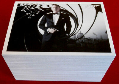 JAMES BOND - SKYFALL - Complete Base Set of 110 Trading Cards - Rittenhouse 2013
