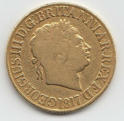 1817 George III Gold Sovereign - Great Britain