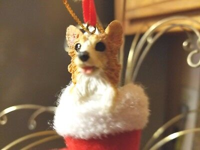 New!, Corgi Dog Christmas Ornament
