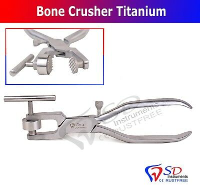 Bone Crusher Bone Mill Bone Morselizer Dental Instrument Implant Japanese Steel