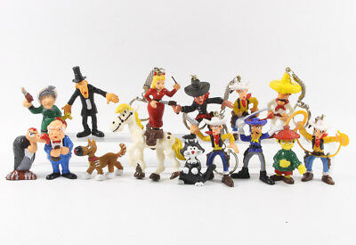 Lucky Luke === Comansi 15 Figuren Yolanda Spain
