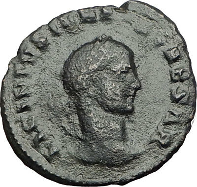 LICINIUS II Constantine the Great  Nephew 317AD Ancient Roman Coin Mars i64971
