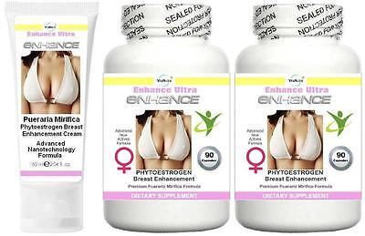 Breast Firming Enlargement Enhancement Cream Capsules Firmer Cup Bust Lift Aid