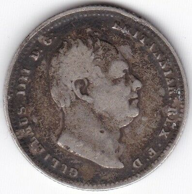1834 William IV One Shilling***Collectors***Silver***