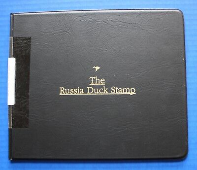 Russia (RD12) 2000 Russia Duck Stamp Artist Signed Miniature Sheet Folio