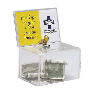 Suggestion box business card collector comment box charity box suggestion business card collection ballot charity coin box wsign holder lock colourmoves