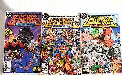 Legends 1-6 Complete Set VF to VF/NM!!!