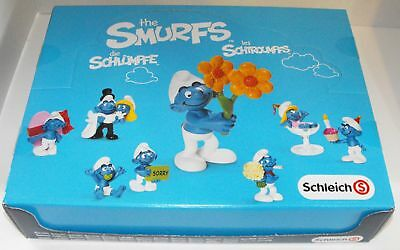 Smurfy Greetings Box without figurines - just the box