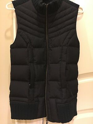 Motherhood Pea In The pod Maternity Black Vest Light Down small s