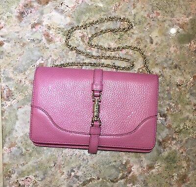 Gucci Lavender Shoulder Bag With Gold Chain RRP £995 Buy it now £400