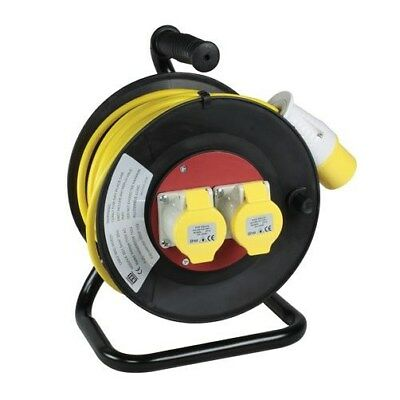 110v and 240v Industrial Extension Reels - Building, Site work, Heavy Duty