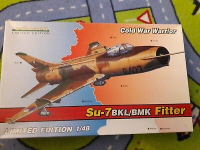 Eduard 1:48 Su-7BKL/ BMK Kit No.1148 *LIMITED EDITION* Cold War Warrior