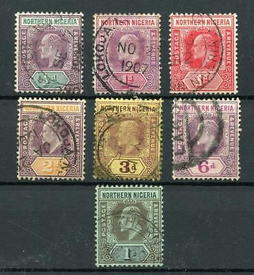 Northern Nigeria 1905-11 MCA values to 1s FU cat £50
