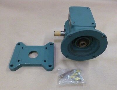 Dodge Tigear Mr94757 Gear Speed Reducer 56/175-60 Ratio 402 Torque 1/3Hp 1750Rpm