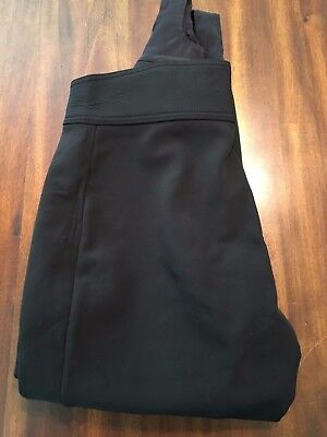 Schoeller Fitted Ski Pants Snowboard Clothes Ladies Black Size 14 Regular