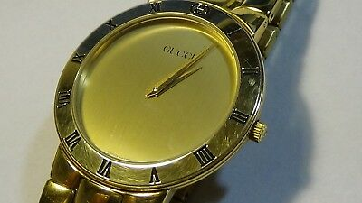 gucci 9700m. vintage 80\u0027s men\u0027s gt gucci 3300.2m watch w/ braceletoriginal in great 9700m .