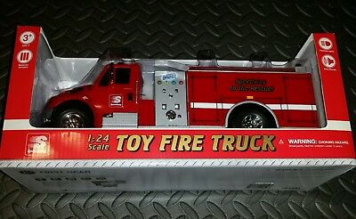 2017 Speedway Truck Toy Fire and Rescue