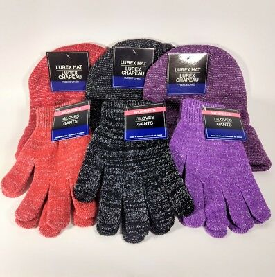 Women's Winter Time Wears / Hat With Matching Gloves