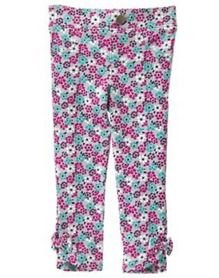 NEW Gymboree girls BACK TO BLOOMS bouquet bow jegging size 3T NWT