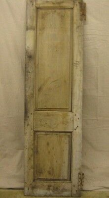 Very Early (Colonial?) Narrow Double Panel Pantry Chimney Cupboard Cabinet Door