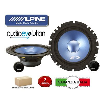 ALPINE SXE-17CS KIT ALTOPARLANTI 2 VIE SEPARATE 165mm 280W NUOVI GARANZIA ITALIA