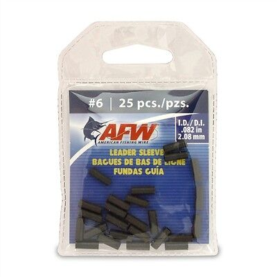 AFW Leader Sleeves/Crimps 36pcs