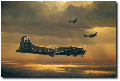 When Prayers Are Answered by William S. Phillips - B-17 Flying Fortress