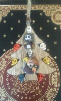 Nightmare Before Christmas Tree Decoration. The Mayer, Jack Skulls. Disney.