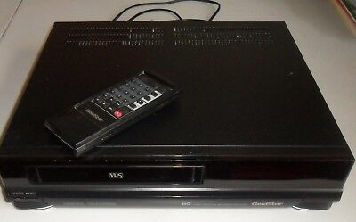 Goldstar Ghv-1910H - Vhs Video Cassette Recorder - With Remote - Working