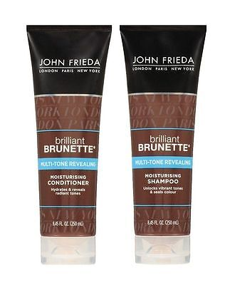 John Frieda Brilliant Brunette Multi-Tone Revealing Shampoo & Conditioner Combo