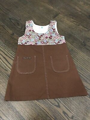 Brownie Girl Scouts uniform dress 8