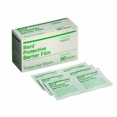 Bard Protective Barrier Film Wipes -Box of 50 *NEW DEAL* SHIPS FREE!!