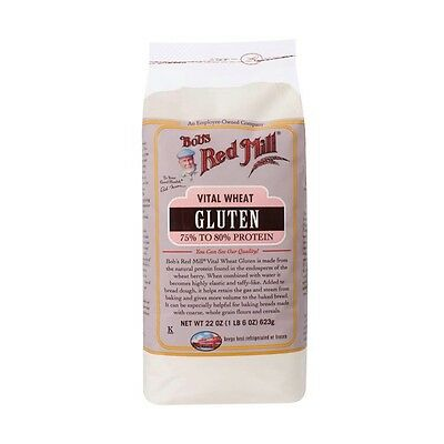 New Bob's Red Mill Vital Wheat Gluten Flour Mixes Food Gorceries
