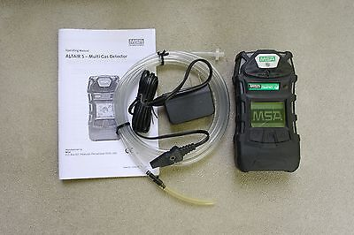 MSA Altair 5, Very Good Condition, Calibrated, Accessories