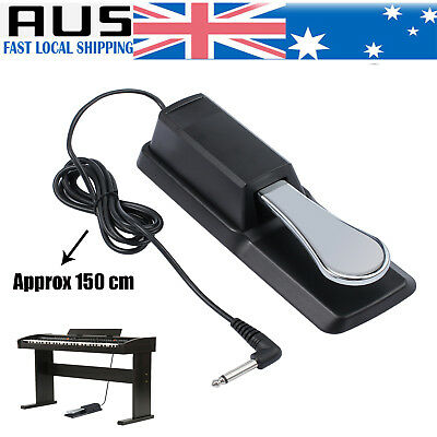 Piano Keyboard Sustain Damper Pedal for Yamaha Casio Electric Piano FREE AU POST
