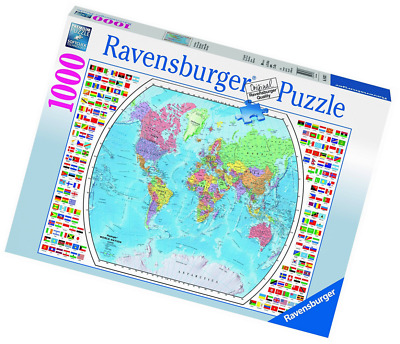Ravensburger political world map jigsaw puzzle 1000 piece 1999 ravensburger political world map jigsaw puzzle 1000 piece gumiabroncs Image collections