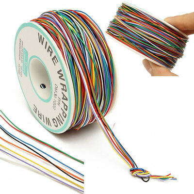 B-30-1000 250M 30 AWG 8-Wire Colored Isolierung Test Wrapping