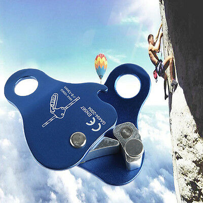24KN ROCK CLIMBING TREE CARVING ROPE GRAB PROTECTA SAFETY EQUIPMENT GEAR New.