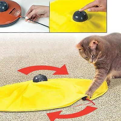 Pet Cat Meow Toy V4 Electronic Interactive Undercover Mouse Cat Kitten Toys New.