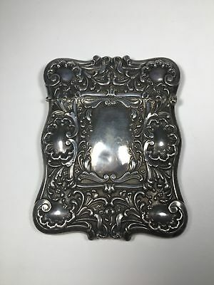 Beautiful Large Sterling Silver Card Holder