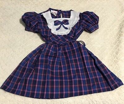 Vintage Toddler Dress By Robyn Sue Fashions Size 5