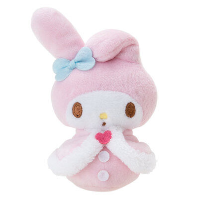 My Melody Palm Size Small Plush Winter 2017 Sanrio Japan